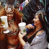 Rihanna al Carnevale delle Barbados