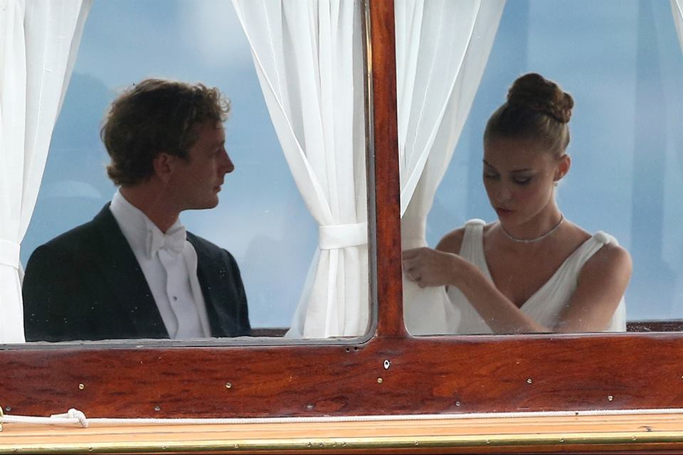 Pierre Casiraghi e Beatrice Borromeo: le foto del matrimonio religioso