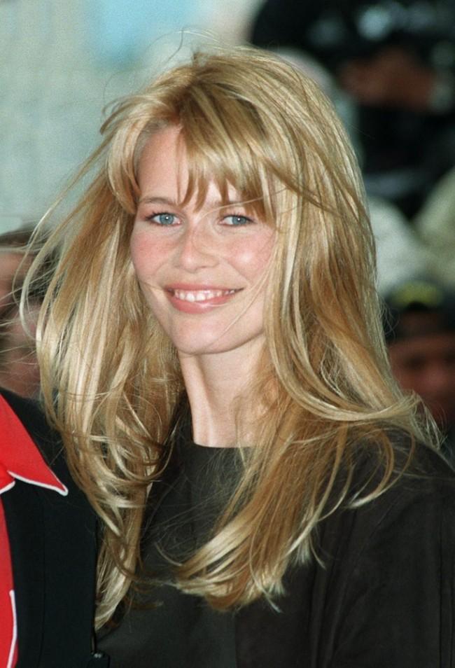 Claudia Schiffer nel 1996