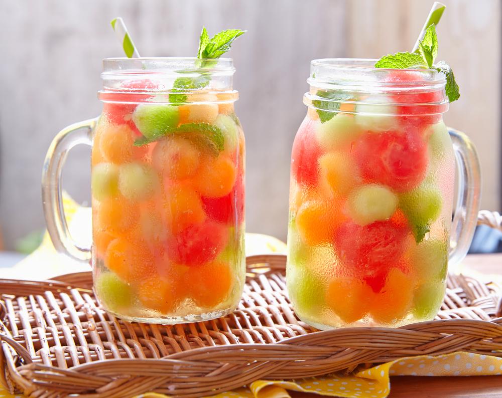 macedonia di melone a anguria