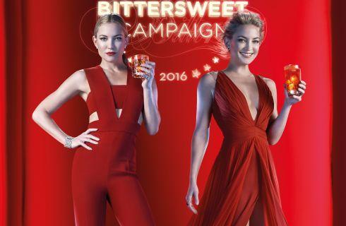 Kate Hudson protagonista del calendario Campari 2016