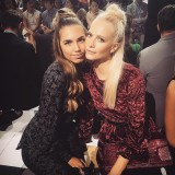 Amber Le Bon e Poppy Delevigne