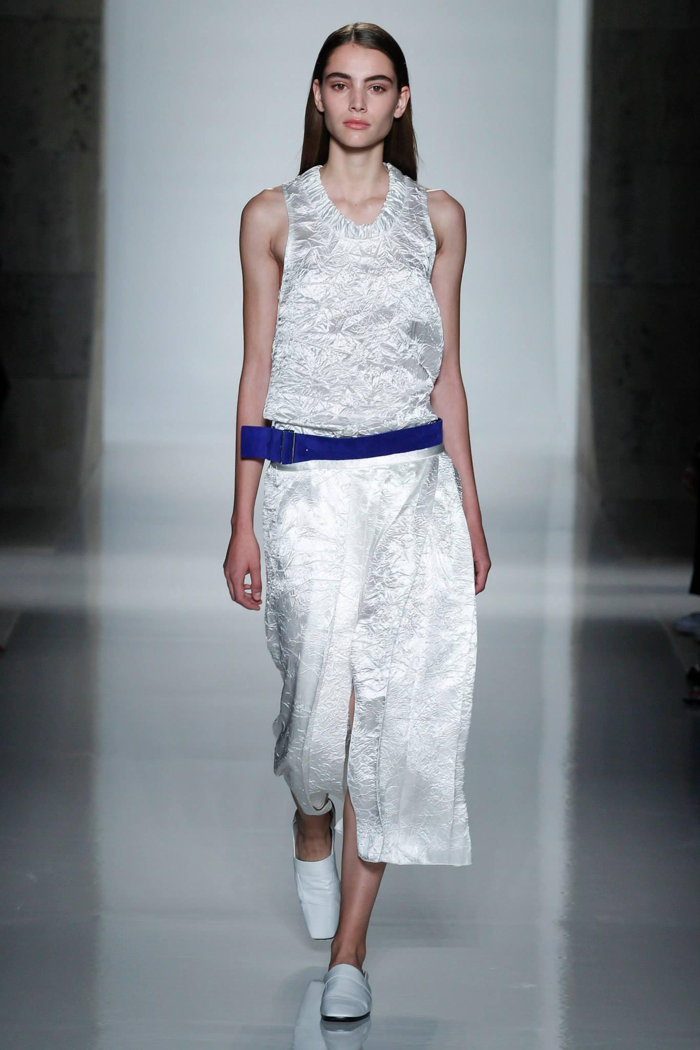 New York Fashion Week, la sfilata di Victoria Beckham per la PE 2016