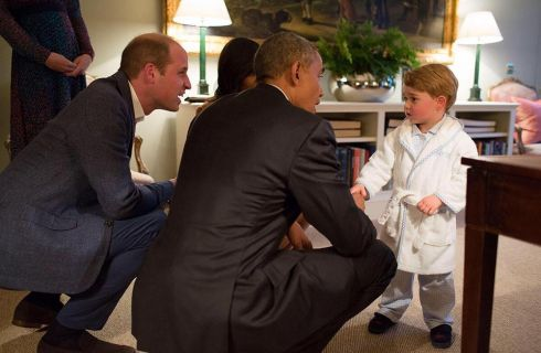 Kate Middleton: le cuoriosità sull'outfit scelto per l'incontro tra George e Obama