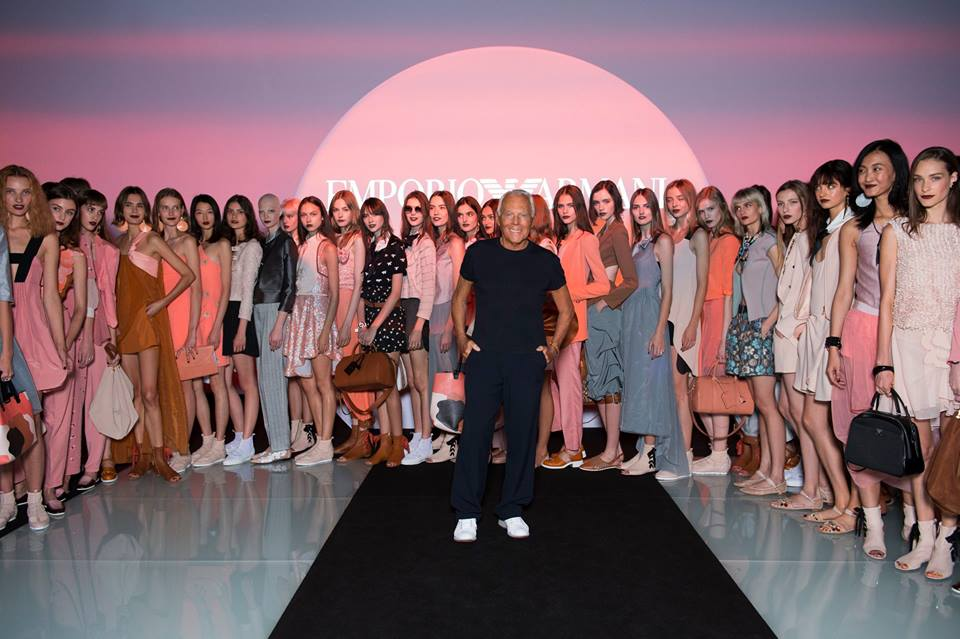 Armani, il ready to wear per la Primavera 2016