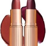 Charlotte Tilbury Matte Revolution Lipstick Bond Girl e Glanstonberry
