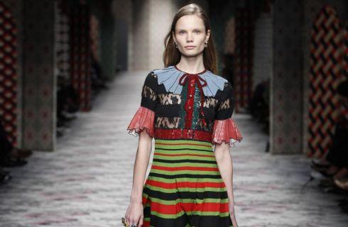 Spudorata e romantica la Primavera 2016 di Gucci