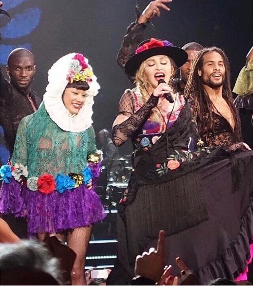 Madonna: i look del Rebel Heart Tour, da Moschino a Wang