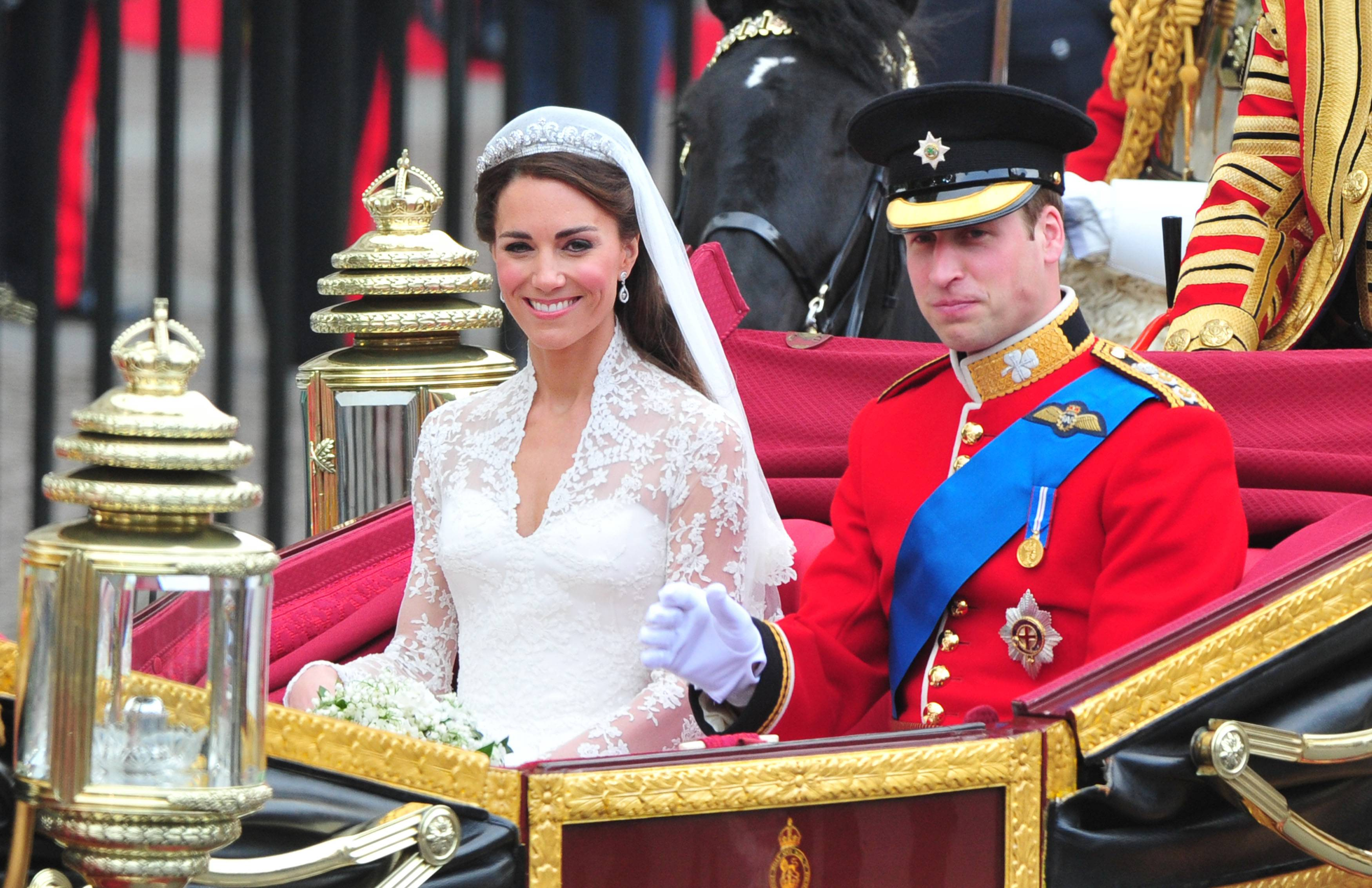 William e Kate Middleton: futuri Re e Regina d'Inghilterra