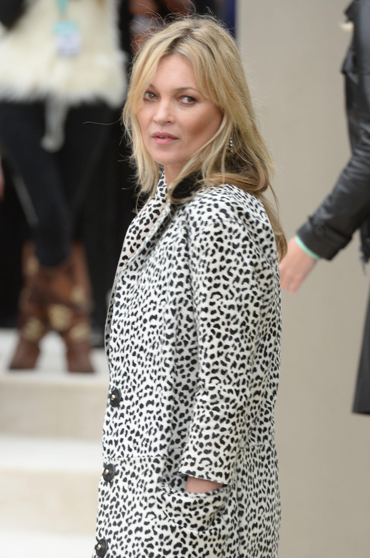 Kate Moss da Burberry, le foto