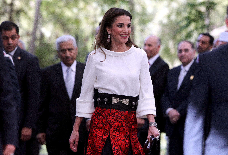 Matrimonio In Giordania : Rania di giordania preoccupante magrezza diredonna
