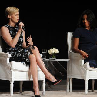 Michelle Obama e Charlize Theron: insieme per le donne