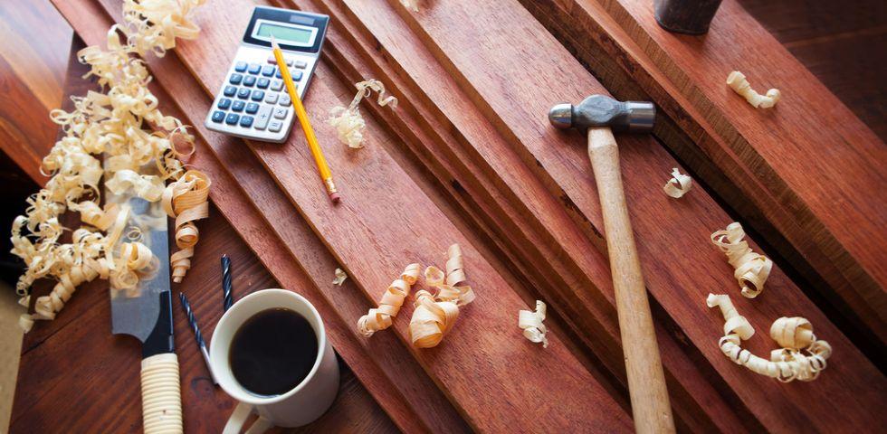 Oggetti fai da te 5 idee con il legno diredonna for Oggetti in legno fai da te