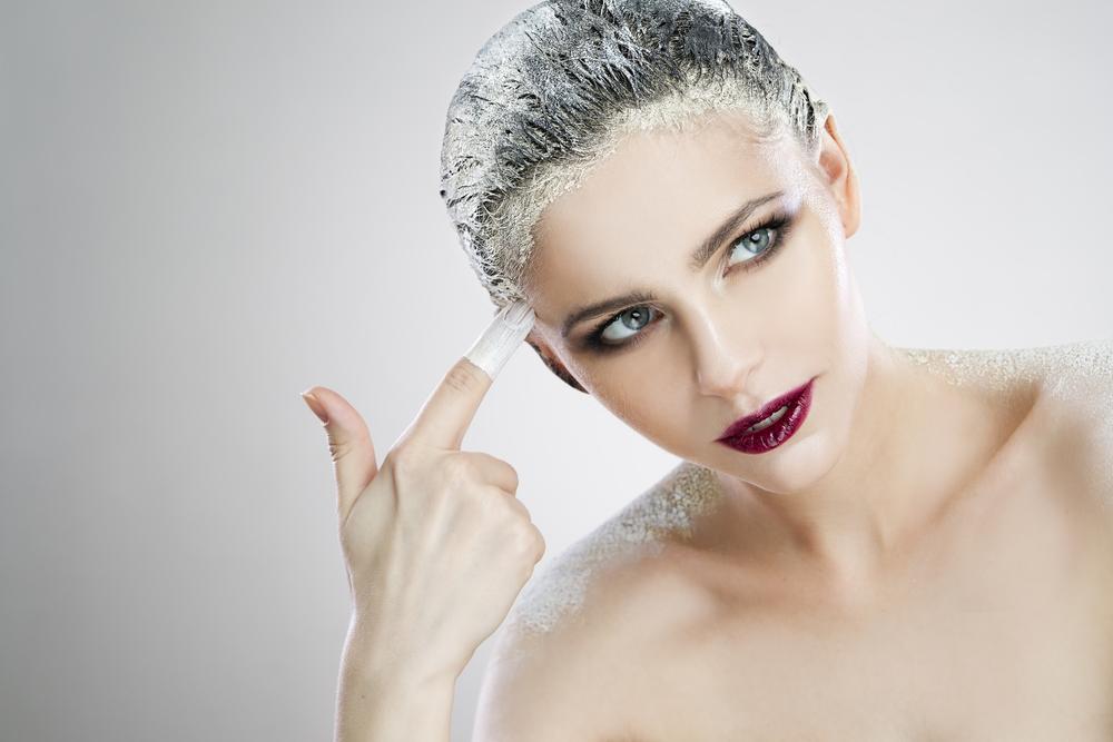 Struttura di capelli e struttura di capelli a una perdita di capelli