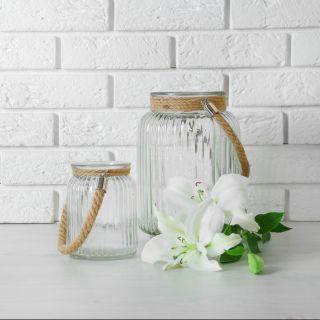 5 idee per decorare casa con i vasetti