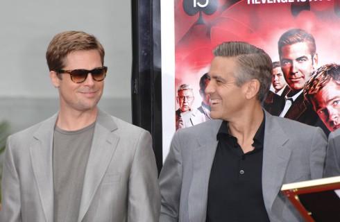 Brad Pitt e George Clooney presto vicini di casa a Londra