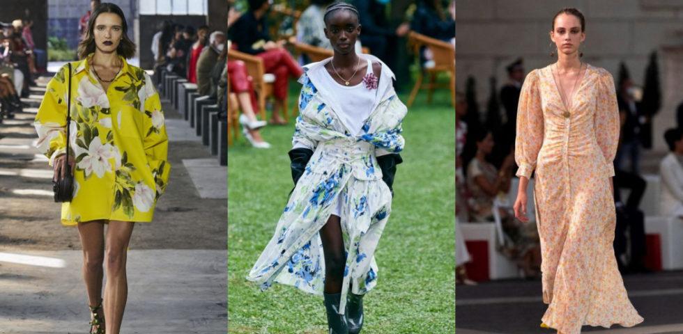 Come abbinare un vestito a fiori, idee di look per la primavera