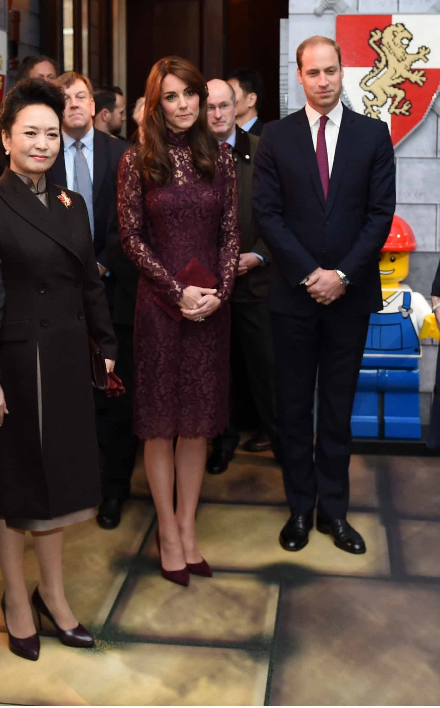 Kate Middleton e William: abito D&G abbinato alla cravatta