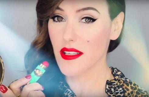 La storia del make up raccontata con un video