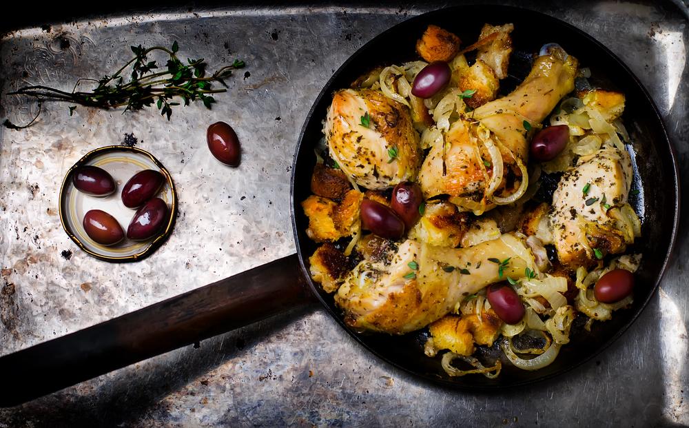 Ricetta Cosce di pollo al forno - La Ricetta di ...