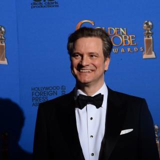 Colin Firth e Renee Zellweger sul set di Bridget Jones