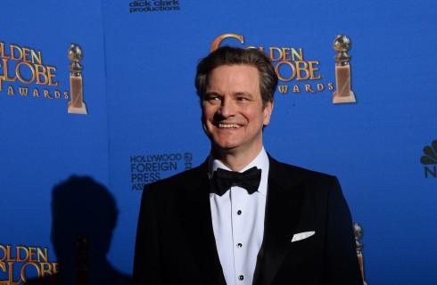 Colin Firth e Renee Zellweger insieme sul set di