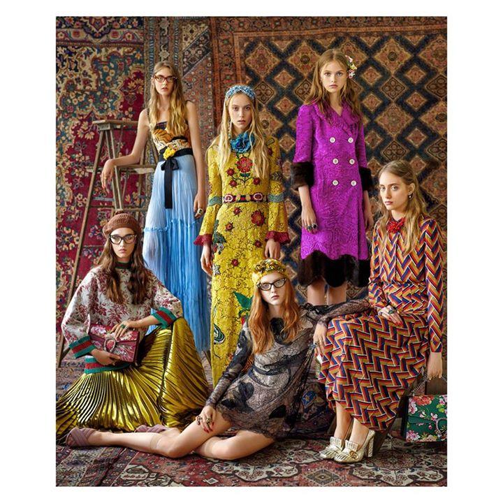 Tendenza moda anni '70, foto