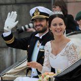 Sofia Hellqvist e il principe Carlo Filippo