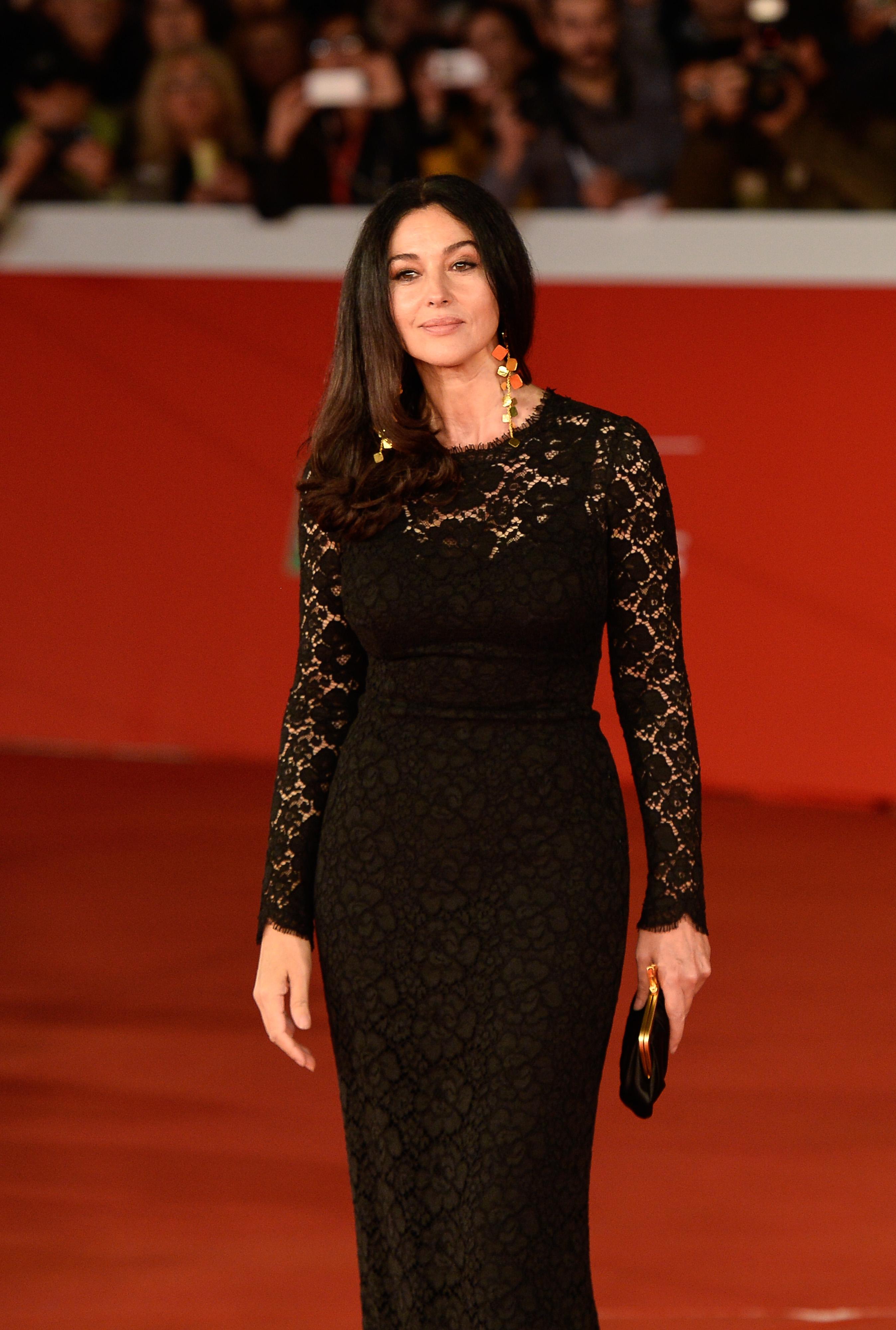 Monica Bellucci sul red carpet della Festa del Cinema di Roma, foto