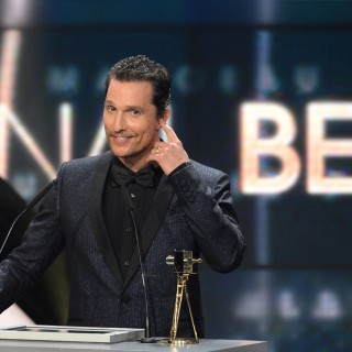 Matthew McConaughey ingrassato e calvo