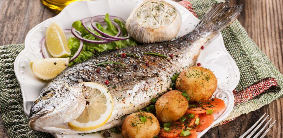 Ricette di pesce facili 3 secondi piatti diredonna for Ricette facili di cucina