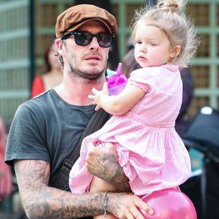 Victoria e David Beckham: manicure e pedicure per la figlia