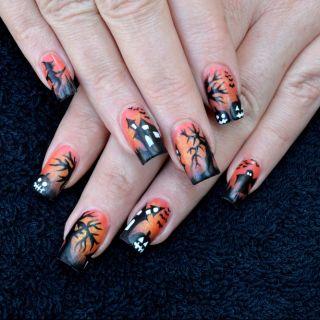 5 idee di manicure per Halloween