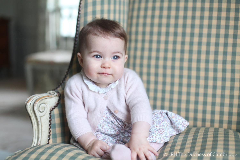 Le foto della principessa Charlotte