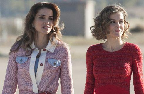 Letizia Ortiz e Rania di Giordania: due regine a confronto