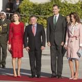 Rania di Giordania e Letizia Ortiz