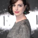 Anne Hathaway nel 2014, prima di Interstellar