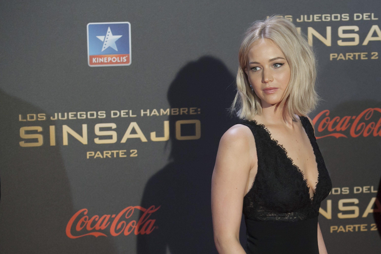 Jennifer Lawrence: i red carpet alle prime di Hunger Games