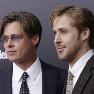 Brad Pitt e Ryan Gosling insieme sul red carpet di The Big Short