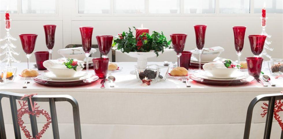 Pranzo di natale come apparecchiare la tavola accogliere for Tovaglie natalizie ikea