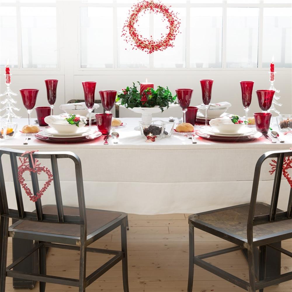 Pranzo di natale come apparecchiare la tavola accogliere - La tavola di melusinda ...