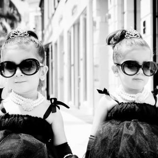 Bella e Chloe, reginette di Instagram a soli 4 anni