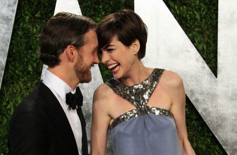 Primo figlio per Anne Hathaway e Adam Shulman