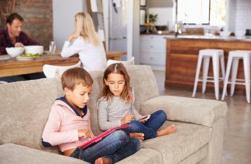 Le regole sull'uso del tablet da parte dei bambini