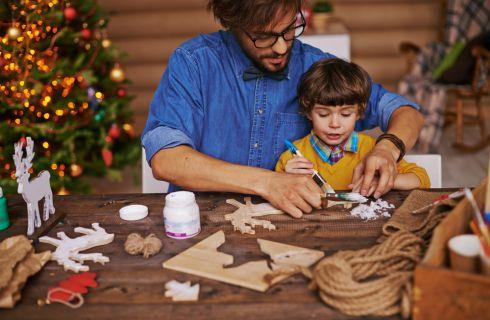 Lavoretti di Natale per bambini: imparare i significati delle feste divertendosi