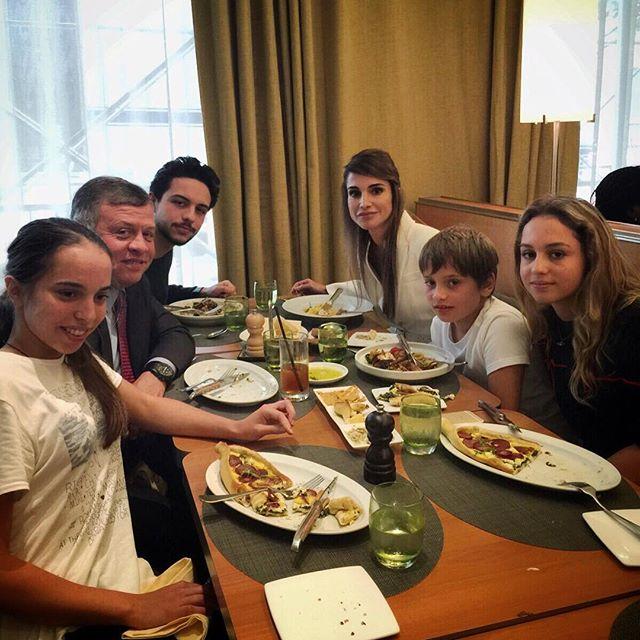Rania di Giordania, le foto di famiglia