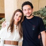 Rania di Giordania e il figlio Hussein bin Abdullah