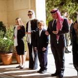 La regina Rania di Giordania e famiglia