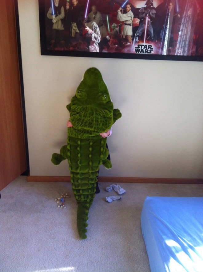Quando i bimbi giocano a nascondino in casa