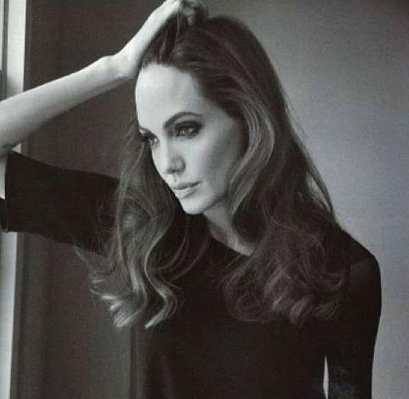 Brad Pitt fotografo d'eccezione di Angelina Jolie